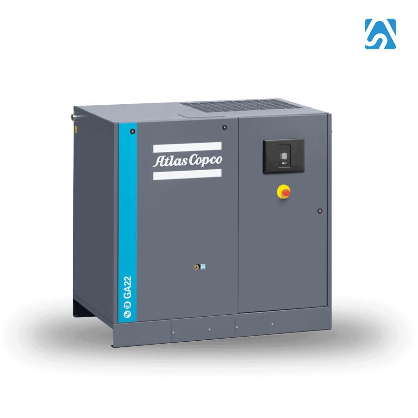 GA - Compresor de Tornillo Lubricado Industrial