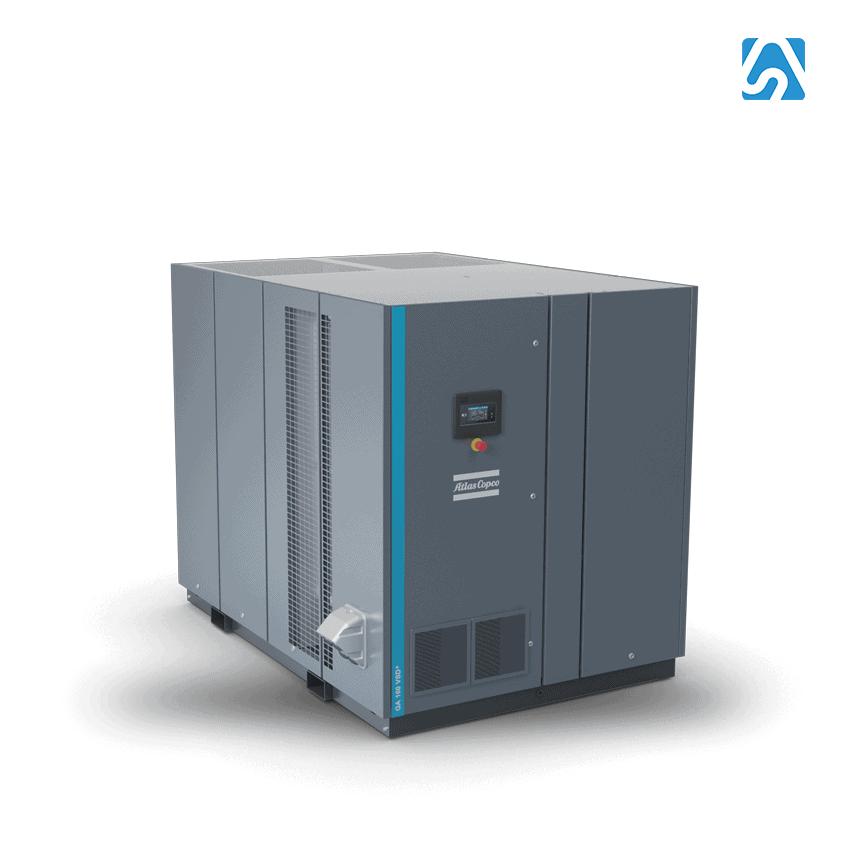 GA Alta Capacidad - Compresor de Tornillo Lubricado Industrial Atlas Copco
