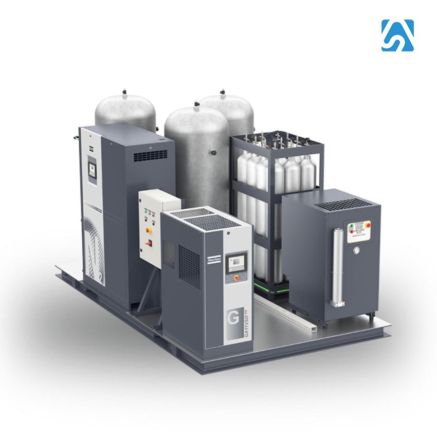 NGP+ - Generador de Nitrógeno N2 Skid (Alta Presion)